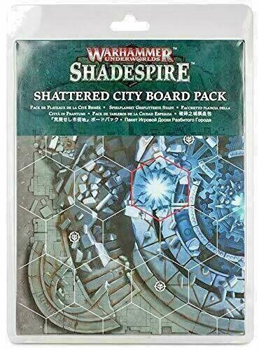 Warhammer Underworlds Shadespire - Shattered City Board Pack  OOP