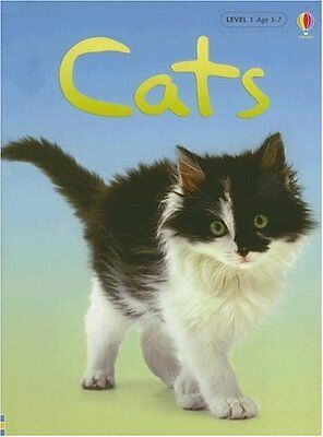 Cats (Usborne Beginners, Level 1) by Anna Milbourne  - Beginner Level