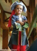 Lujo Mar Pirata Capitán Cierre Adhesivo Niños Piratas Disfraz De Carnaval -  - ebay.es