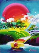 Peter Max Original Painting