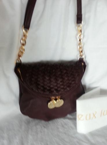 Deux Lux Woven Handbags Amp Purses Ebay