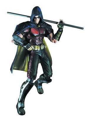 *NEW* DC Comics Batman Arkham City: #3 Robin Play Arts Kai Figure by Square Enix