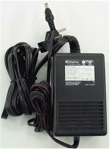 Dictaphone AC power Supply 860001 23V DC ++FREE SHIP!