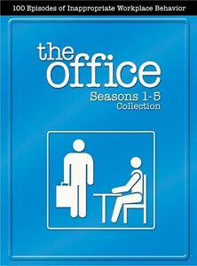 The Office-Seasons 1-5 Box Set 18 DVDS