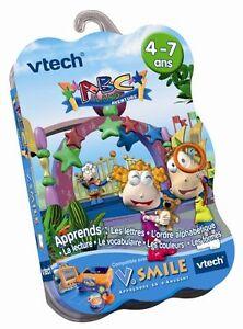 Jeu-V-SMILE-ABC-LAND-4-7-ans-Vtech-Vsmile-Disney