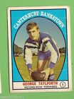 1968 Season NRL & Rugby League Trading Cards
