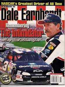 TRIBUTE TO DALE EARNHARDT THE INTIMIDATOR MAGAZINE 2001 London Ontario image 2