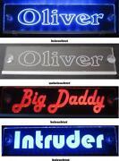 LKW Namensschild