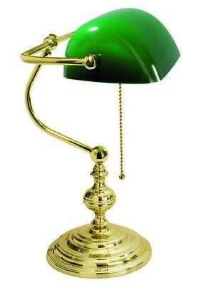 Messing Poliert Kette (Schreibtischlampe Amerikanisch Messing Poliert Kette Made in Italy)