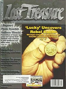 Lot of 11 Lost Treasure Magazine