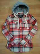 Ladies Hooded Checked Shirt