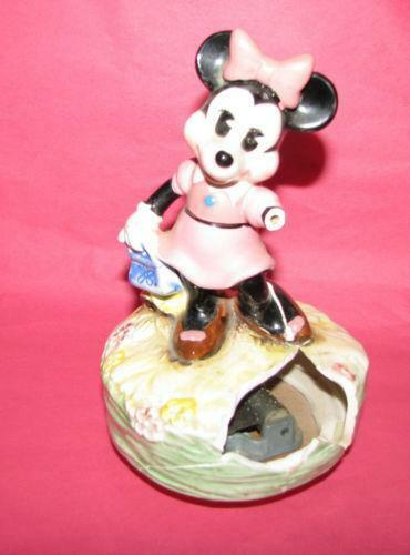 Minnie mouse music box ebay for Minnie mouse jewelry box