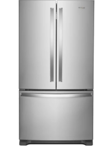 Whirlpool WRF535SWHZ 25 Cu. Ft. French Door Refrigerator - S