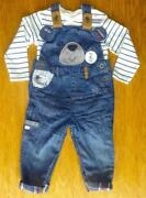 Boys Dungarees 9-12 Months