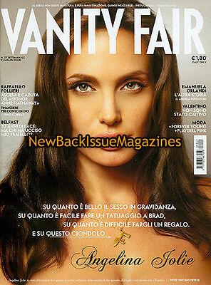 Italian Vanity Fair 7/08,Angelina Jolie,July 2008,NEW