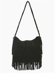 b3b36838d22 Leather Fringe Bag