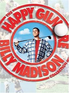 Happy Gilmore/Billy Madison 2 dvd box set-Full Screen-Like new