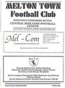 Non League Football Programmes