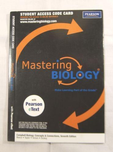 Mastering biology access code ebay fandeluxe Image collections