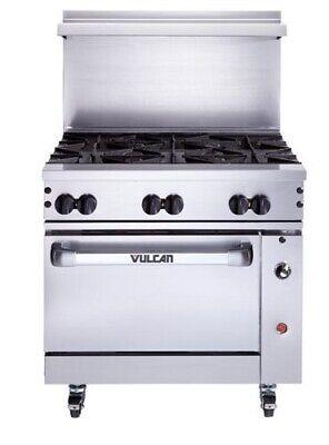 Vulcan 36s-6b Endurance Restaurant Range 36 6 Burner Std. Oven