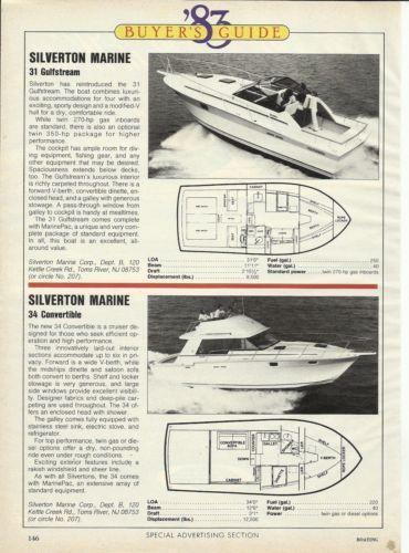 carver boat silverton boat