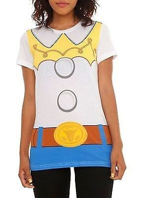 Toy Story I Am Jesse Jessie Cowgirl Disney Pixar Costume Juniors T Shirt S Xxl