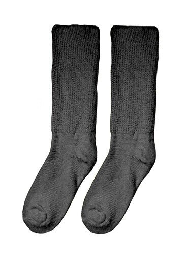 Complete Medical Diabetic Socks - Extra Large (10-13) (pair) Black