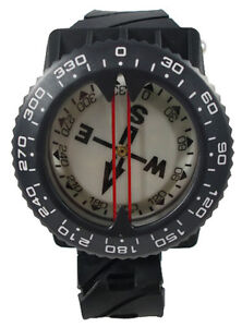 Scuba-Diving-Dive-Underwater-Deluxe-Wrist-Compass