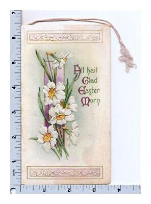 Victorian Greeting Card | Easter Booklet AS Kathryn Elliot Illustration Embossed