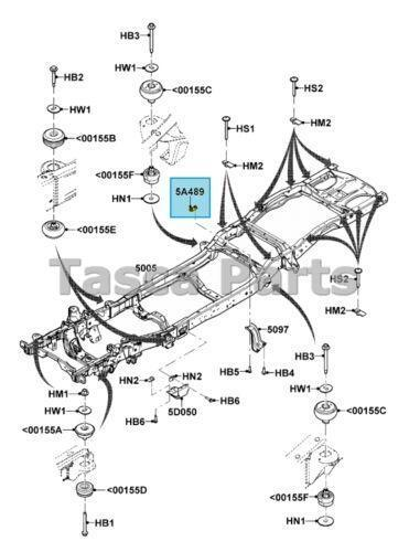 2000 Ford Ranger Frame Diagram
