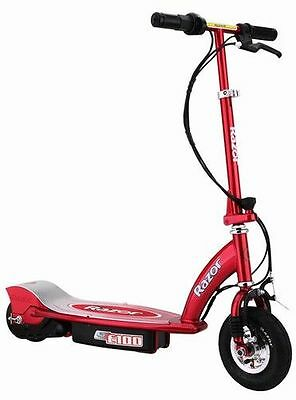 The electric scooter looks like a kid's toy, but has some pace