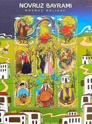 Azerbaijan 2020 * NOVRUZ HOLIDAY * Souvenir Sheet * MNH