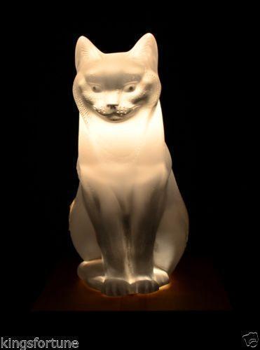 Lalique Crystal Cat Ebay