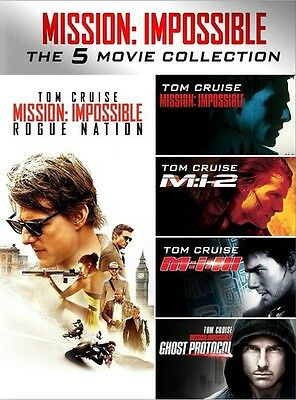 Mission  Impossible 5 Movie Collection Dvd