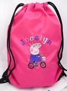 Personalised PE Bag Embroidered