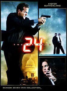Wanted: Season 7 of  the tv show 24 on dvd