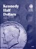 Whitman Kennedy Half Dollar Coin Folder Book #2 1986-2003 #9698