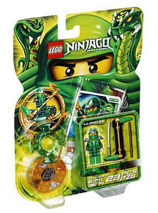 NEW LEGO NINJAGO LLOYD ZX SPINNER SET 9574 minifig battle cards green ninja 9450