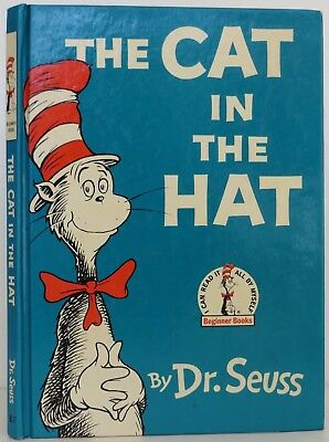 DR. SEUSS The Cat in the Hat INSCRIBED EARLY PRINTING