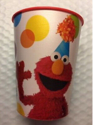 Sesame Street  plastic FAVOR CUP Birthday Party Tableware Supplies 16oz reusable (Sesame Street Plastic Cups)