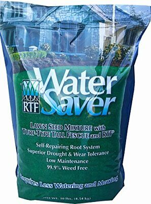 WaterSaver Grass Seed Seed Mixture With Turf-Type Tall Fescue - Used to Seed