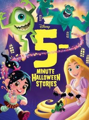 5-Minute Halloween Stories by Disney Storybook Art Team: New](5 Minute English Halloween)