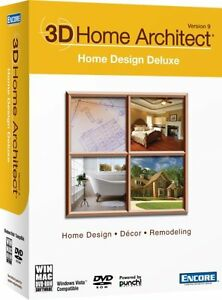 D Home Architect Home Design Deluxe Version  New Pc