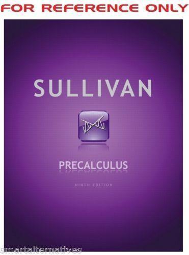 Precalculus sullivan books ebay fandeluxe Image collections