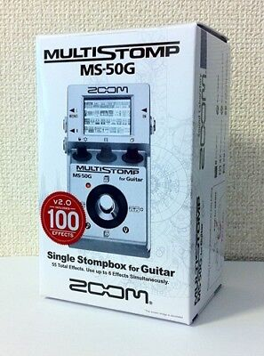 Used, NEW ZOOM MS-50G MULTI STOMP Multi-Effects Guitar Pedal from JAPAN for sale  Shipping to South Africa