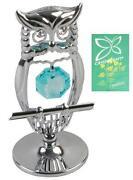 Glass Owl Ornament