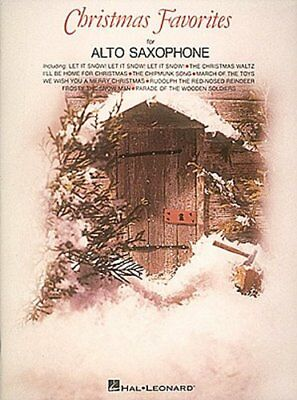 CHRISTMAS FAVORITES FOR ALTO SAXOPHONE-MUSIC BOOK-BRAND NEW ON SALE SONGBOOK-SAX