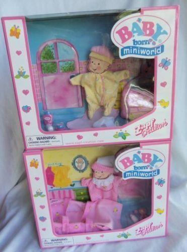 Baby Born Miniworld Zapf Ebay