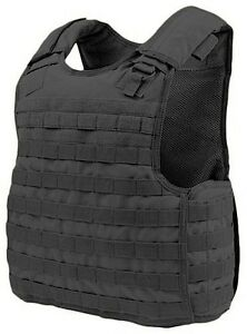 Condor-Tactical-QPC-MOLLE-PALS-Defender-Body-Armor-Plate-Carrier-Vest-Rig-Black
