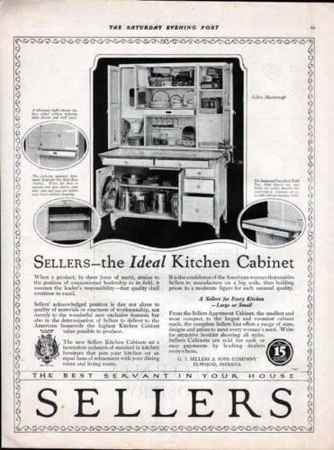Sellers Kitchen Cabinet Ebay